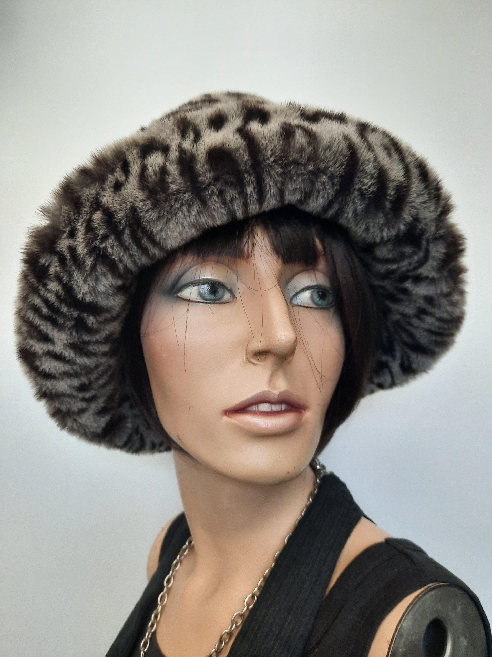Eleganter Vintage Fellhut