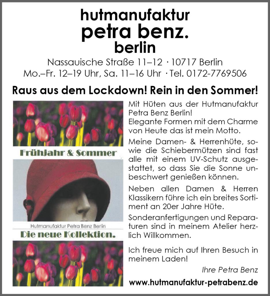 Lockdown Ende - Anzeige